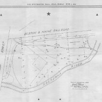 Image of Plan of Ginn Field, Winchester, Massachusetts, 1938