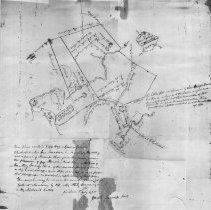 Image of 1300.40 - These plans contain Capt. Wm. Symmes farm in Charlestown and his bare meadow, his marsh and a parcel of swamp ... 3 July 1705