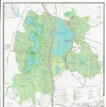 Image of 1300.73 - Middlesex Fells Reservation Trail Map.