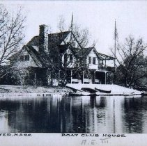 Image of 2002.14.44 - Winchester Boat Club House