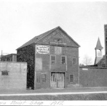 Image of 2003.03.28 - Father's Paint Shop, 1917