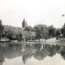 Image of 1200.11.111 - Mill Pond and Town Hall