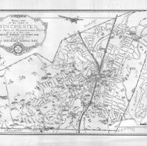 Image of Chase Map of Winchester 1929