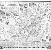 Image of Chase Map of Winchester 1952