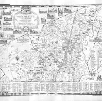 Image of Chase Map of Winchester 1957
