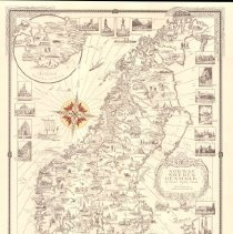 Image of Chase Map of Norway, Sweden, Denmark