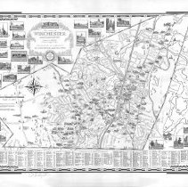 Image of Chase Map of Winchester 1941