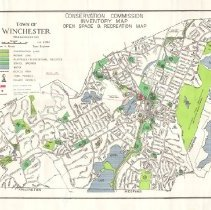 Image of 1300.45 - Conservation Commission Inventory Map, Open Space and Recreation Map