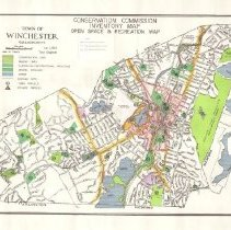 Image of 1300.46 - Conservation Commission Inventory Map, Open Space and Recreation Map