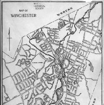 Image of 1300.50 - Map of Winchester
