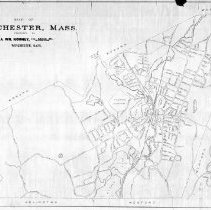 Image of 1300.59 - Map of Winchester, Mass.