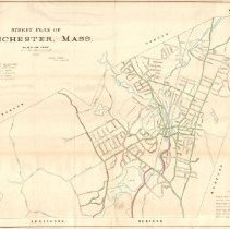 Image of 1300.61 - Street plan of Winchester, Mass. 1906