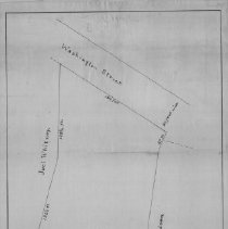 Image of 1300.68 - Plan of the late Zachariah Symmes's Homestead in Winchester.