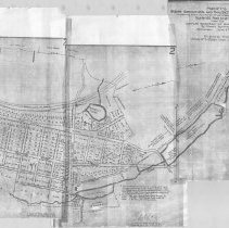 Image of 1300.72 - Plan of the Woburn Agricultural and Manufacturing Company's Sale, containing about 300 acres of land, dwelling houses, mills, etc.
