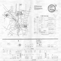 Image of 1300.91 - Winchester, Massachusetts. August 1899. Sanborn fire insurance maps. Sheet 1
