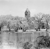 Image of 2012.17.55 - Town Hall and Mill Pond