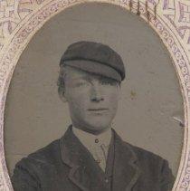Image of 2006.053.136 - Tintype of Charles Ellis Jr., the first son of Charles Ellis.
