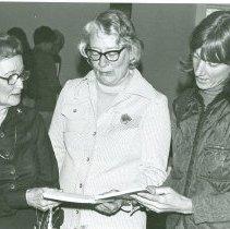 Image of JEAN ULITZ - A-1-7  Katy thompson, Jean Ulitz, Mabel Hiddon ca 1977