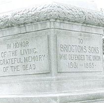 Image of A-3-10  Bridgton Civil War Monument