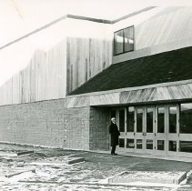 Image of GEORGE DAVIDSON, NEW SEIDENSTUCKER GYMNASIUM