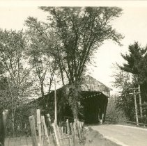 Image of NORTH CONWAY COVERED BRIDGE - NORTH CONWAY COVERED BRIDGE
