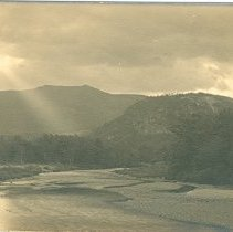 Image of CATHEDRAL LEDGE, MOAT MOUNTAIN AND SACO RIVER - CATHEDRAL LEDGE, MOAT MOUNTAIN AND SACO RIVER