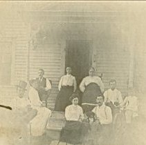 Image of THE YEATON FAMILY-WEST MAIN STREET, CONWAY, NH - THE YEATON FAMILY-WEST MAIN STREET, CONWAY, NH