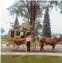 Image of ORIGINAL CONCORD COACH-WEST MAIN STREET, CONWAY, NH - ORIGINAL CONCORD COACH-WEST MAIN STREET, CONWAY, NH