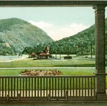 Image of CRAWFORD NOTCH FROM CRAWFORD HOUSE-WHITE MTS., NH - CRAWFORD NOTCH FROM CRAWFORD HOUSE-WHITE MTS., NH