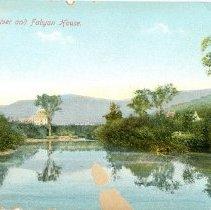 Image of FABYAN HOUSE AND AMONOOSAC RIVER