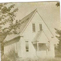 Image of PICTURES FROM Nellie Carver Estate'S -MOCK UP FROM GOSHEN-PG. 64 - METHODIST CHAPEL.  BUILT 1872