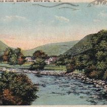 Image of Saco River, Bartlett - West Side of Saco River, Bartlett - tinted