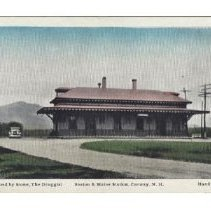 Image of Boston and Maine Railroad Station, Conway - Boston & Maine RR Station, Conway