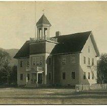 Image of Bartlett School 1912 - School House, Bartlett 1912