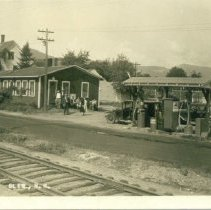 Image of Cannell's Filling Station, Glen - Cannell's Filling Station, Glen
