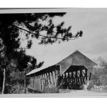 Image of Covered Bridge, Bartlett - Covered Bridge, Bartlett