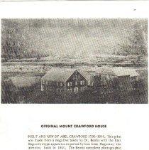 Image of crawford 2 - Mt. Crawford House, Crawford Notch