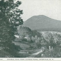 Image of Double Head Mt from Dundee Road, Intervale - Double Head Mountain from Dundee Road, Intervale