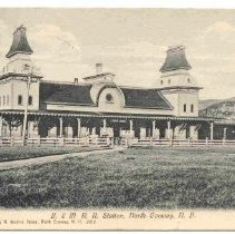 Image of N.C. RR Station - Boston & Maine RR Station, N. Conway