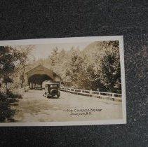 Image of Old Covered Bridge, Jackson - Old Covered Bridge, Jackson