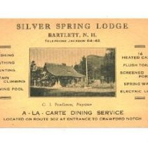 Image of Silver Springs - Silver Spring Lodge, Bartlett
