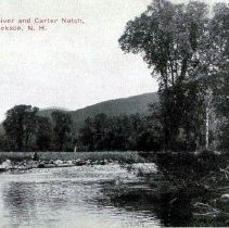Image of Wildcat River from golf course - Wild Cat River & Carter Notch from Jackson