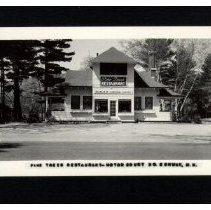Image of Pine Tree Restaurant, N. Conway.JPG - Pine Tree Restaurant and Motor Court, N. Conway