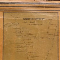 Image of North Conway, an inset in the Map of Carroll County, 1860