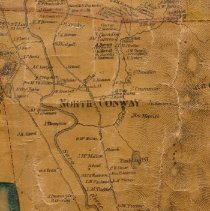 Image of North Conway, from Map of Carroll County, 1860