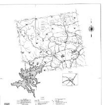 """Image of """"General Highway Map, Carroll County:  Sandwich.  Sheet 5 of an 8 map series on the county.  Base map: 1962; Cultural inventory: 1964; Revisions:  yearly to 1973.  Shows roads, railroads, houses, rivers, lakes, mountains, and other features list"""