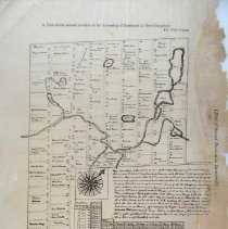 "Image of ""Plan of the second Division of the Township of Barnstead in New-Hampshire"", by Vere Royse.  Description of second division of Barnstead into lots - with a table showing the relationship between the first and second Divisions.  Shows roads, rivers, lakes"
