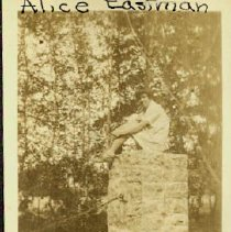 Image of Alice_Eastman__North_Conway__Fall_1928 - Alice Eastman, North Conway 1920s