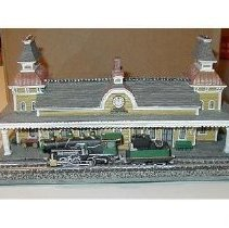 Image of Model of North Conway Train Station - Model of North Conway train station