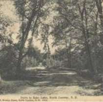 Image of Road to Echo Lake, North Conway - Road to Echo Lake, North Conway